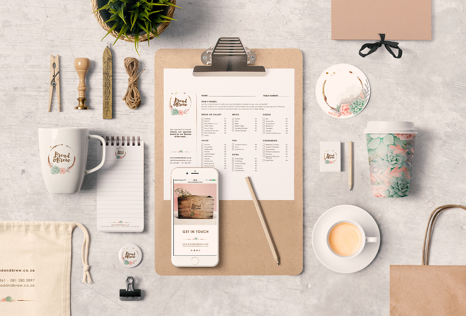 Bread and Brew - Branding