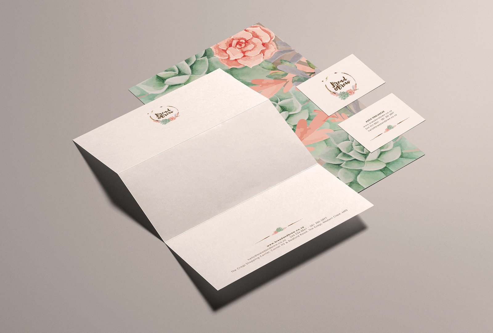 Bread and Brew - Stationery