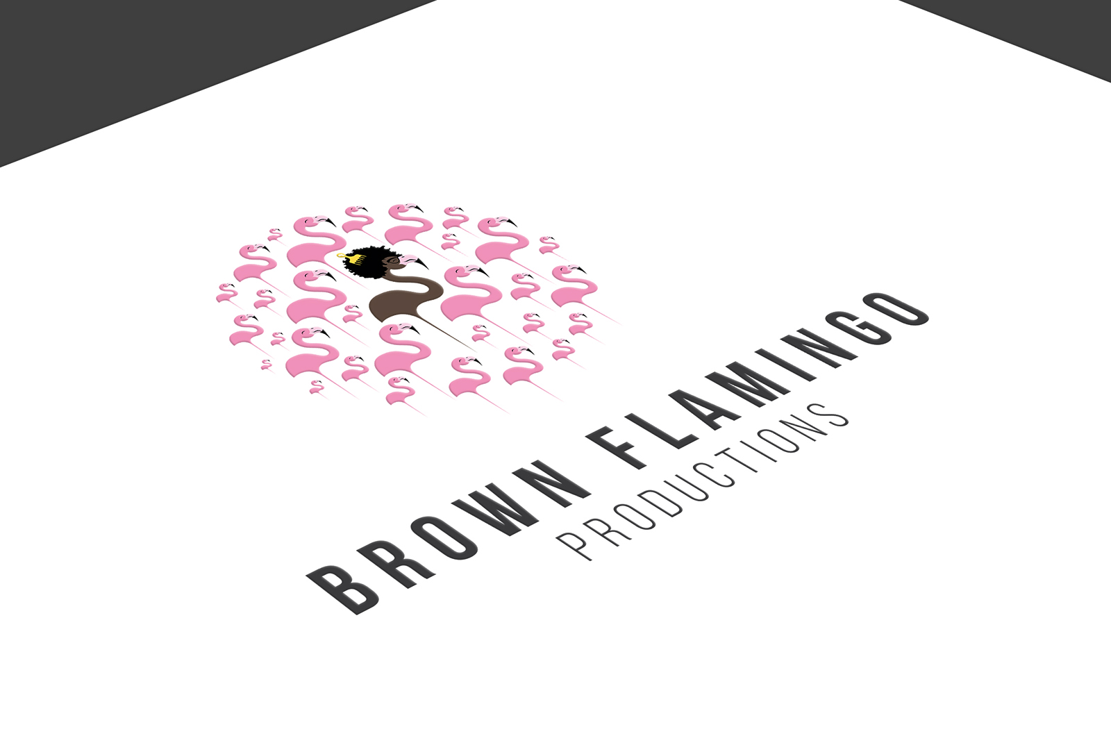 Brown Flamingo Productions - Logo