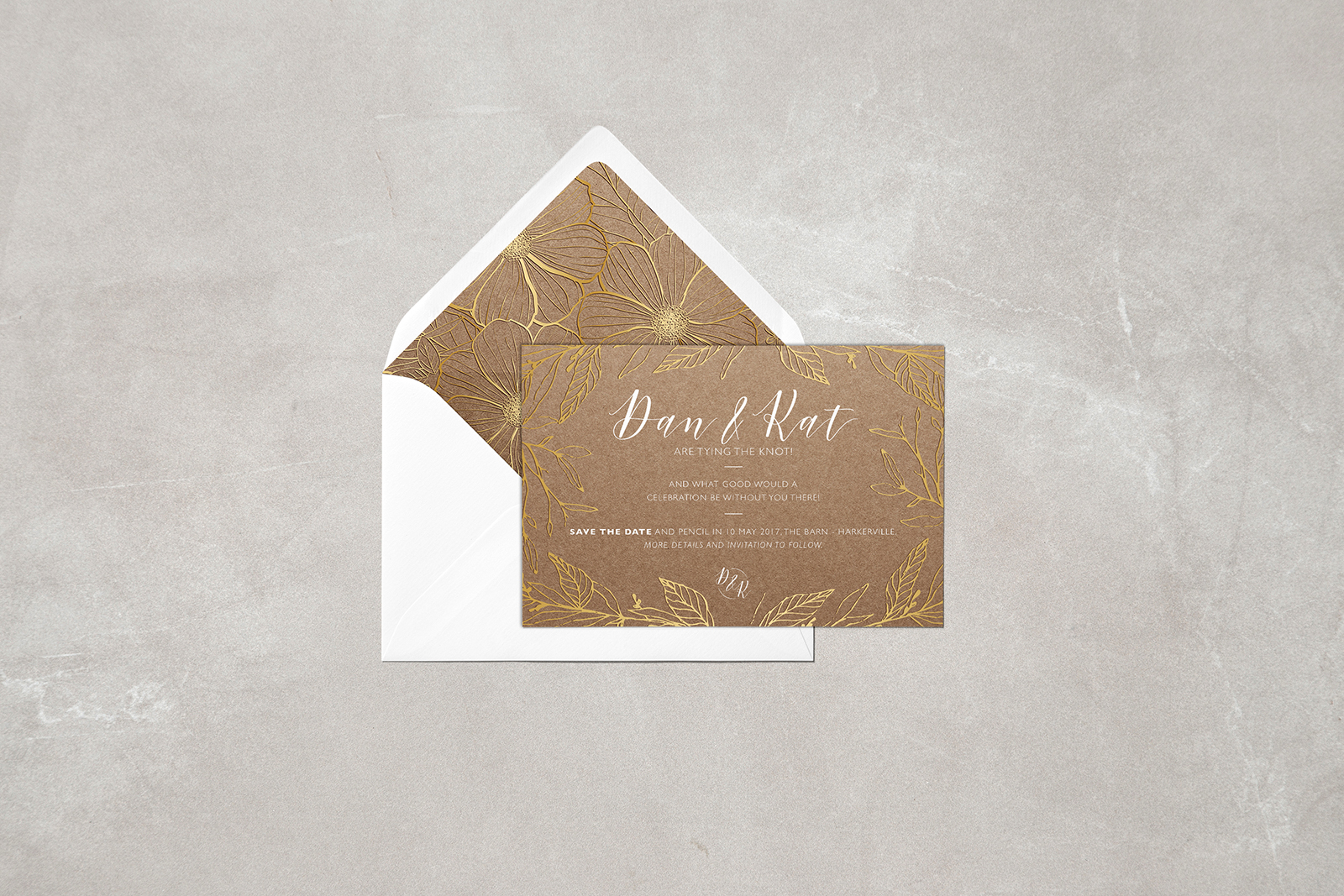 Wedding Stationery - Save the Date